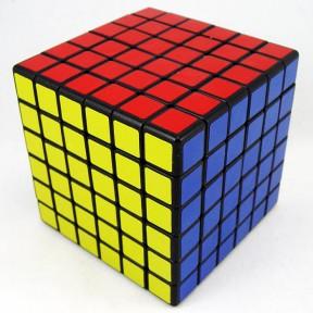 ShengShou 6x6x6 - negru