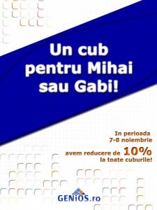 Promotie Mihail si Gavril vizual