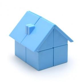 YJ House 2x2, albastru