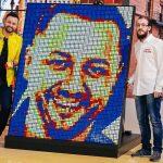 Portret Personalizat din 720 Cuburi Rubik