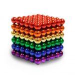 Bile magnetice, multicolore